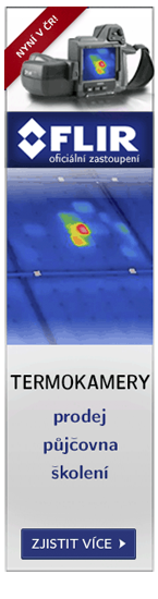 Termokamera FLIR | Oficiální zastoupení v ČR