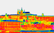 Snímky pořízené termokamerou a přhled aplikací termokamery. Aplikace termokamery jsou popsány na jednotlivých, konkrétních měření z praxe.