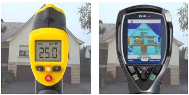 Rozdíl mezi termokamerou a pyrometrem